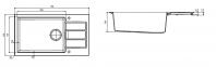 Кухонная мойка Franke Sirius Tectonite SID 611-78 XL Slim Маскарпоне 114.0497.981 0