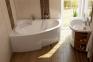 Акриловая ванна Ravak Asymmetric 160 правосторонняя C471000000 0