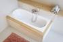 Акриловая ванна 1400x705 Excellent Sekwana WAEX.SEK14WH 0