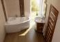 Акриловая ванна Ravak Asymmetric 160 правосторонняя C471000000 3