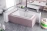 Акриловая ванна асимметричная левая 1600х950 Excellent M-Sfera WAEX.MSL16WH-BN 2