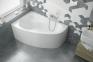 Акриловая ванна левая асимметричная 1490х950 Excellent NEWA Plus WAEX.NEL15WH 2
