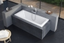Акриловая ванна прямоугольная 1600х705 Excellent AVA WAEX.AVA16WH 2