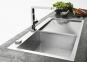 Кухонная мойка Franke Planar PPX 211 TL крыло справа 127.0203.464 полированная 0