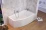 Акриловая ванна асимметричная левая 1500х855 Excellent Magnus WAEX.MGL15WH 2