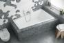 Акриловая ванна асимметричная правая 1600х950 Excellent M-Sfera Slim WAEX.MSP17WH-BN 0