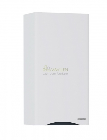 Полупенал Sanwerk Slim ALESSA AIR 35 цв. белий (вставка-серый) Правый, 1F (MV0000378)