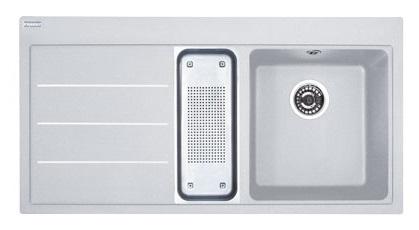 Кухонная мойка Franke Mythos Fusion MTF 651-100 крыло слева Белый 114.0156.977