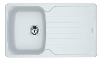 Кухонная мойка Franke Antea AZG 611-86 Белый 114.0499.188