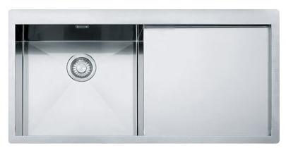 Кухонная мойка Franke Planar PPX 211 TL крыло справа 127.0203.464 полированная