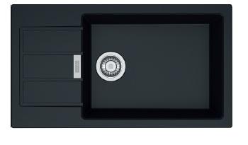 Кухонная мойка Franke Sirius Tectonite SID 611-78 XL Slim Черный 114.0497.960