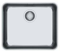 Кухонная мойка Franke Aton ANX 110-48 полированная 122.0204.649