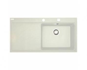 Кухонная мойка Franke Mythos MTG 611 крыло слева Белый 114.0502.866 (114.0017.834)