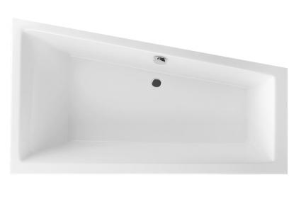 Акриловая ванна асимметричная правая 1600х950 Excellent M-Sfera Slim WAEX.MSP17WH-BN