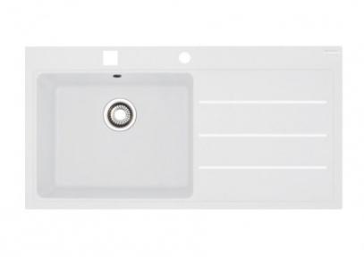 Кухонная мойка Franke Mythos Fusion MTF 611-100 крыло справа Белый 114.0157.244