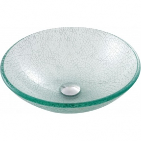 Раковина стеклянная KRAUS GV-500-12MM прозрачная