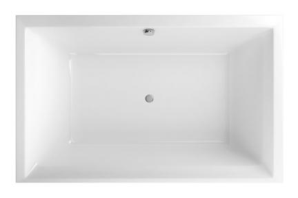 Акриловая ванна прямоугольная 1900х1200 Excellent Crown LUX WAEX.CRO19WH