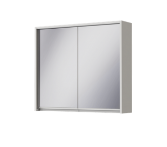 Зеркальный шкаф Ювента Savona SvM-80 белый SvM-80