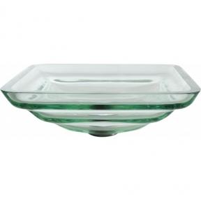Раковина стеклянная KRAUS GVS-930-19MM прозрачная