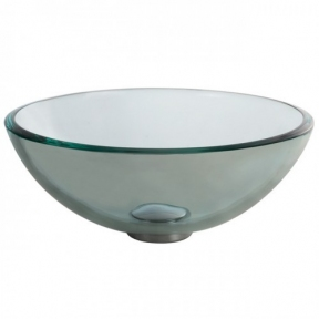 Раковина стеклянная  KRAUS GV-101-14-12MM прозрачная