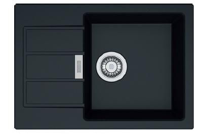 Кухонная мойка Franke Sirius Tectonite SID 611-62 Slim Черный 114.0497.937