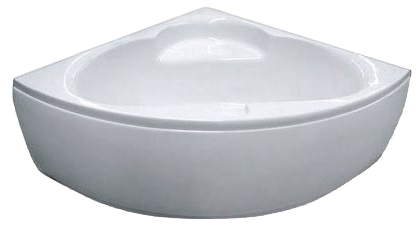 Ванна угловая без гидромассажа 1400*1400*620 мм (рама + ножки + лицевая панель) Appollo TS-970