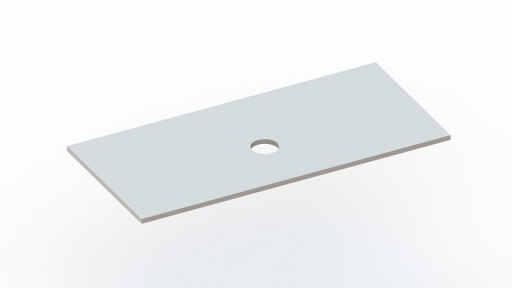 Столешница под умывальники Snail «Артемида» 150х55см C 127A100C белая