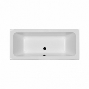 Акриловая прямоугольная ванна KOLO Modo слив посередине 180x80 XWP1181