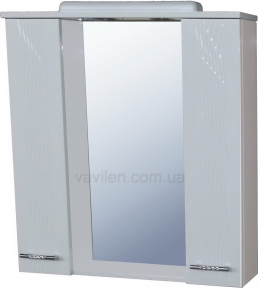 Шкаф настенный Moidodir АКВА СШ-80х80 (Зеркальный)