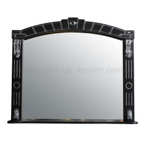Зеркало Атолл Alexandria 100 black