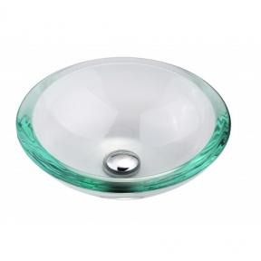 Раковина стеклянная KRAUS GV-150-19MM прозрачная