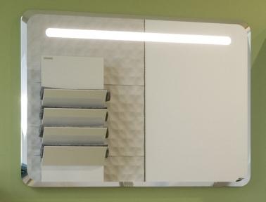Зеркало MARTIN LED 65*90 (25мм)