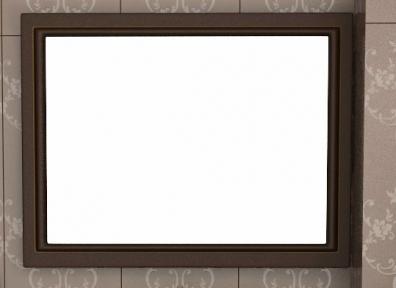 Зеркало Saintwood Лагуна 80 ясень коричневый