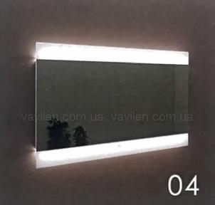 Зеркало 04 с LED подсветкой Marsan 70
