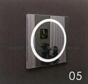Зеркало 05 с LED подсветкой Marsan 55