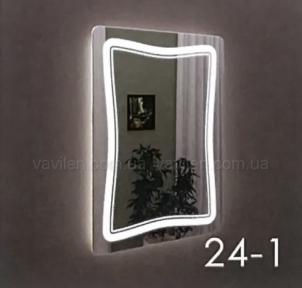 Зеркало 24-1 с LED подсветкой Marsan 60
