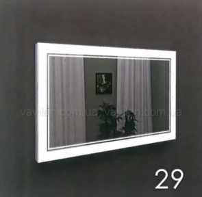 Зеркало 29 с LED подсветкой Marsan 70