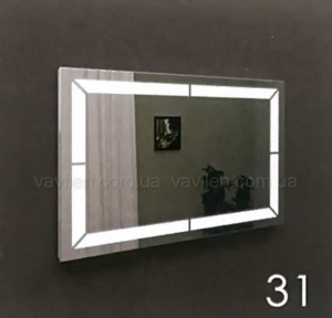 Зеркало 31 с LED подсветкой Marsan 80
