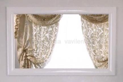 Зеркало Marsan Virginie 1200 белое