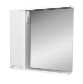 Зеркало Respect-M Style Stmc - 80 L белое