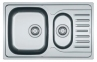 Кухонная мойка Franke Polar PXL 651-78 оборотная 101.0377.282 декор