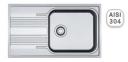 Кухонная мойка Franke Smart SRL 611-86 XL микродекор 101.0456.706